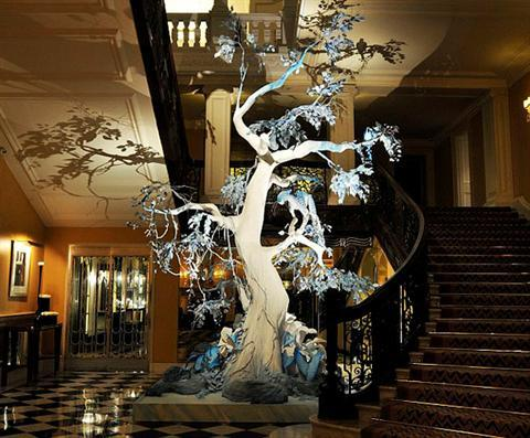 Claridges Galliano tree