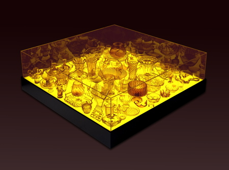 Stuart Haygarth Aladdin light tables