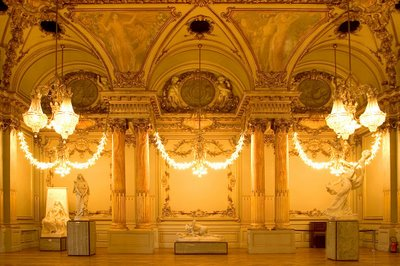 Musee D'Orsay chandeliers