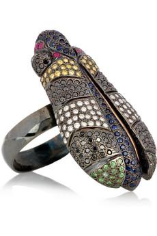 Ileana Makri beetle ring