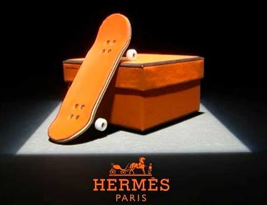 Hermes finger skate