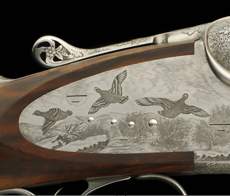 Ray Ward Rifle detail