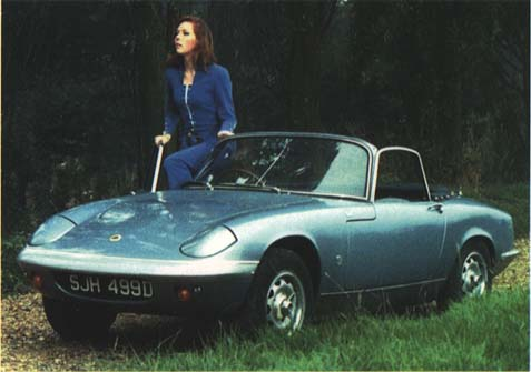 1 Emma Peel's Lotus Elan from The Avengers
