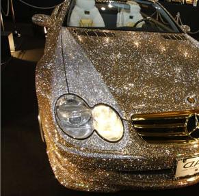 3 Swarowski Mercedes