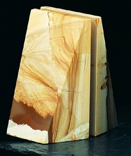 1_marble bookend
